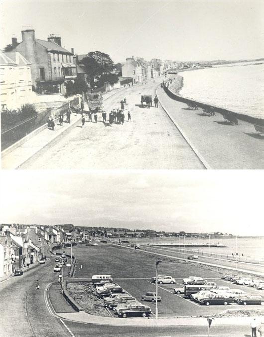 Photograph of Construction of the Marine Highway, Carrickfergus