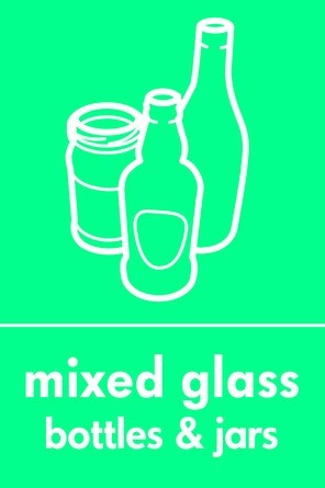 Mixed glass icon