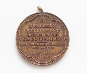 Commemorative medal for The Northern Parliament