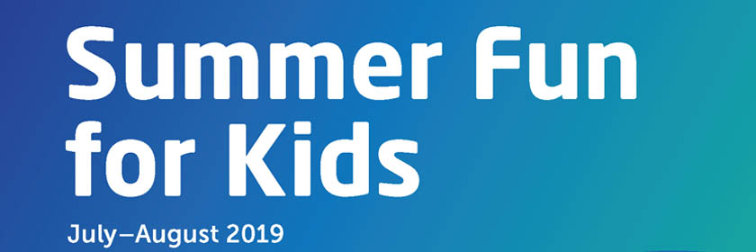 Summer Fun for Kids 2019 text