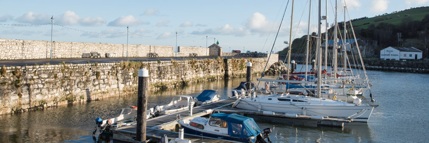 Photograph of Glenarm Harbour