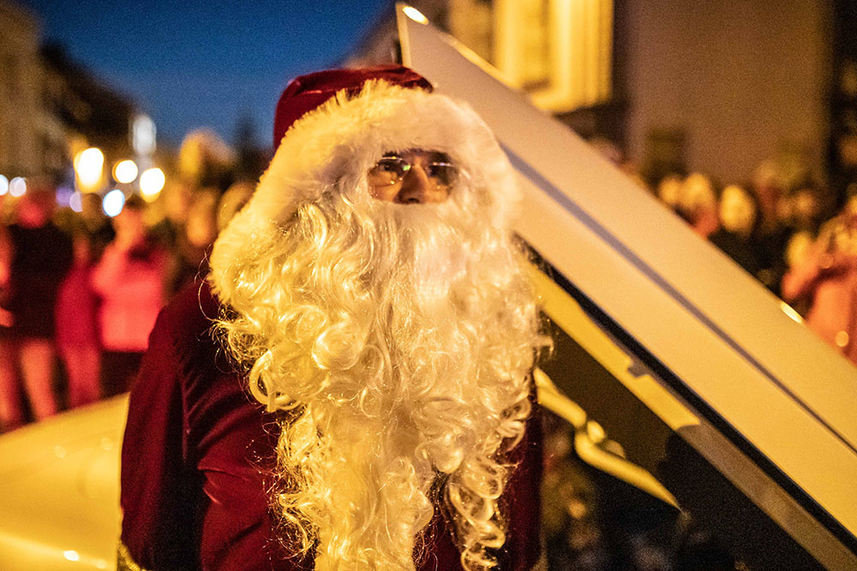 Carrickfergus Christmas Lights Switch On image