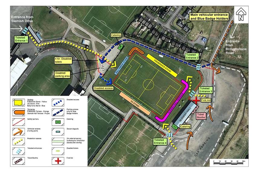 New arena at Ballymena Showgrounds to host SuperCupNI fixtures image