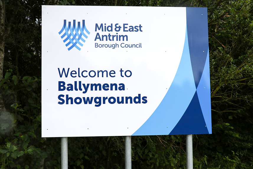 Council sets out plans to restore Ballymena Showgrounds pitch image