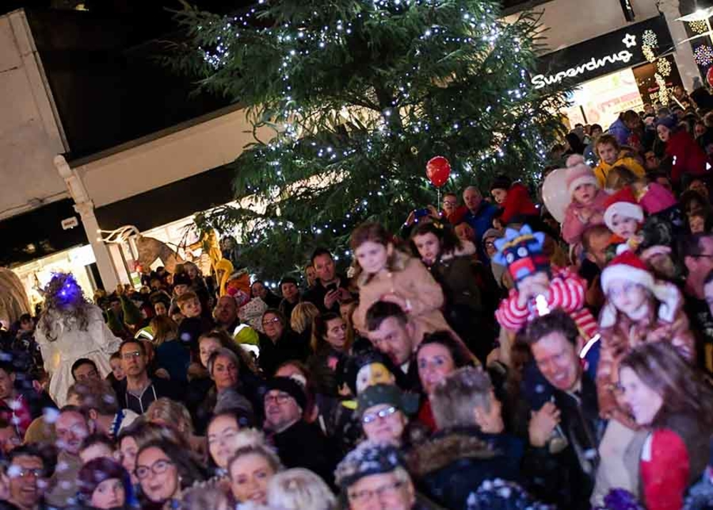 Christmas Switch.Larne Christmas Switch On Mid And East Antrim Borough Council