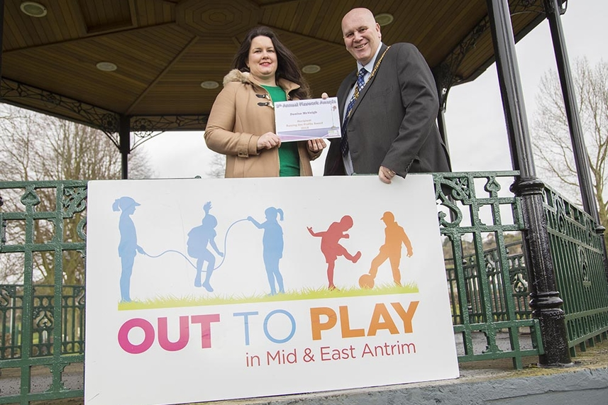 Award winning Play Development in Mid and East Antrim image