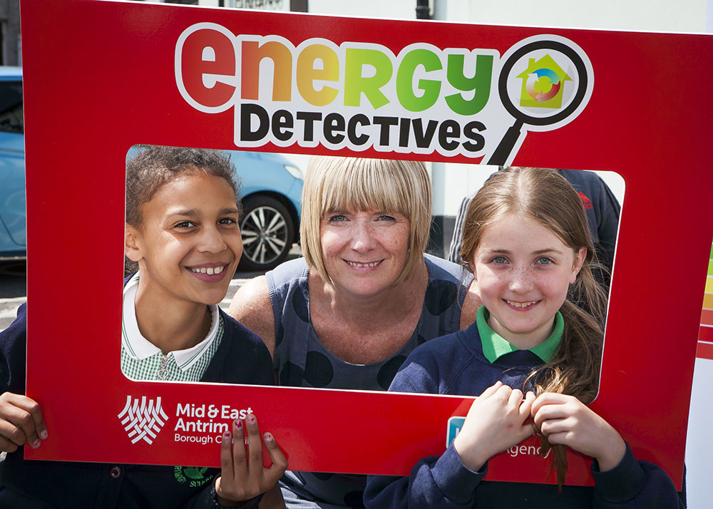 Mid and East Antrim's Energy Detectives programme goes to local schools to educate them on how to save energy in the home