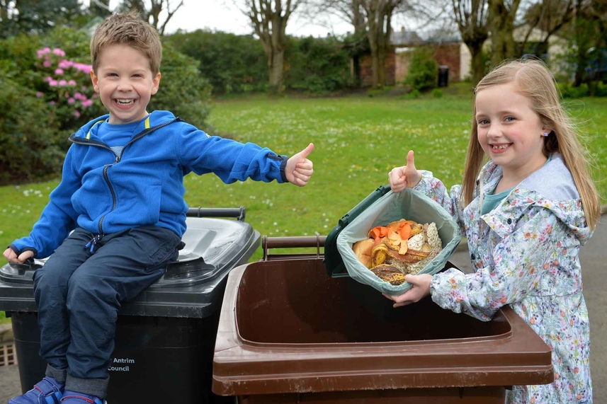 Mid and East Antrim's citizens praised for continuing to lead the way with recycling efforts image