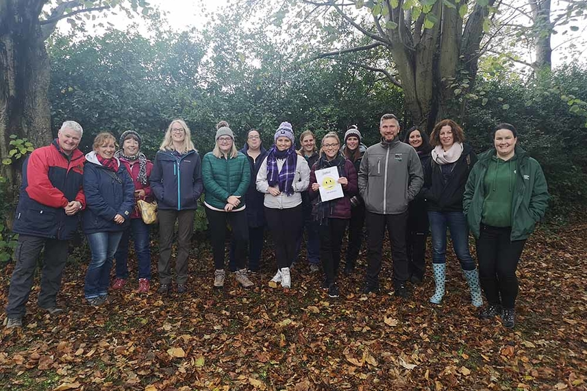Free Forest School training for interested organisations in Mid and East Antrim image