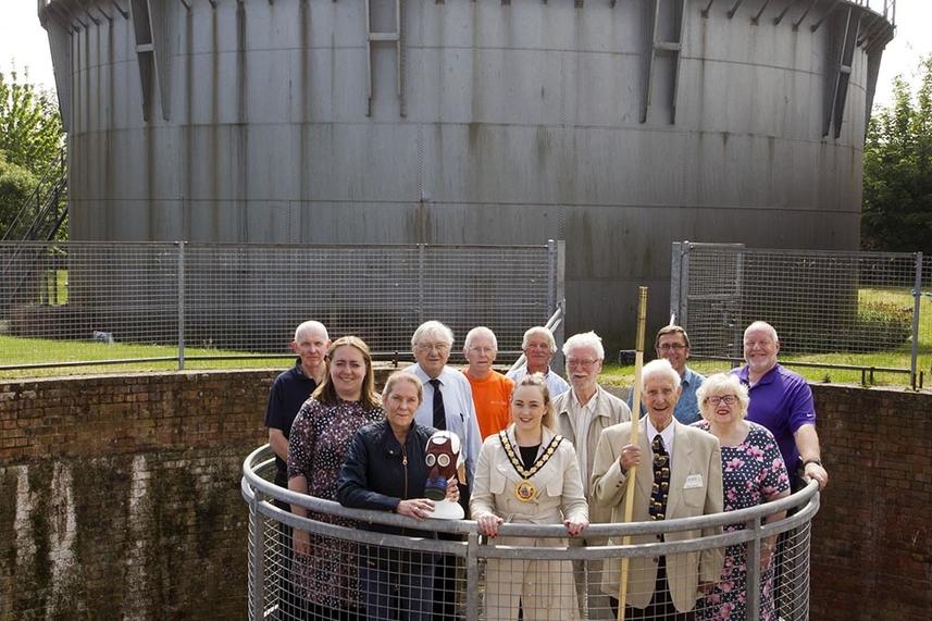 Carrickfergus Gasworks Preservation Society win Royal award image
