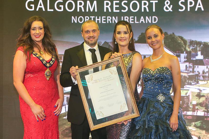 Mayor's congratulations after Galgorm hosts World Luxury Spa and Restaurant Awards image