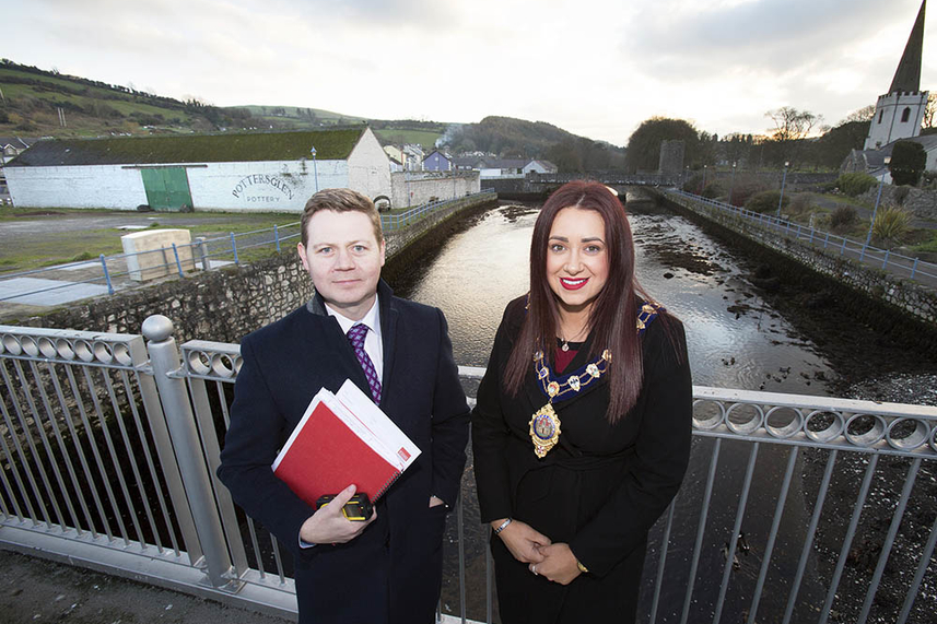 Glenarm Harbour Regeneration site brought to market image