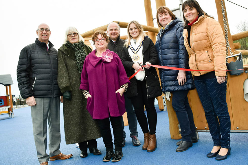 Glenarm Play Area officially opens with community celebration image