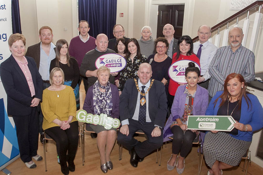 Mid and East Antrim Borough Council celebrates Irish Language Week image