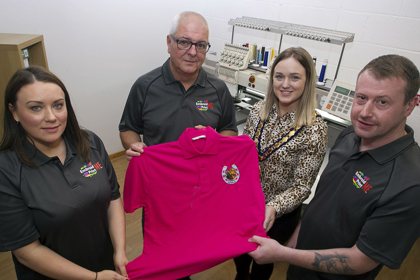 Mid and East Antrim apparel business firms up designs for an exciting and prosperous future image