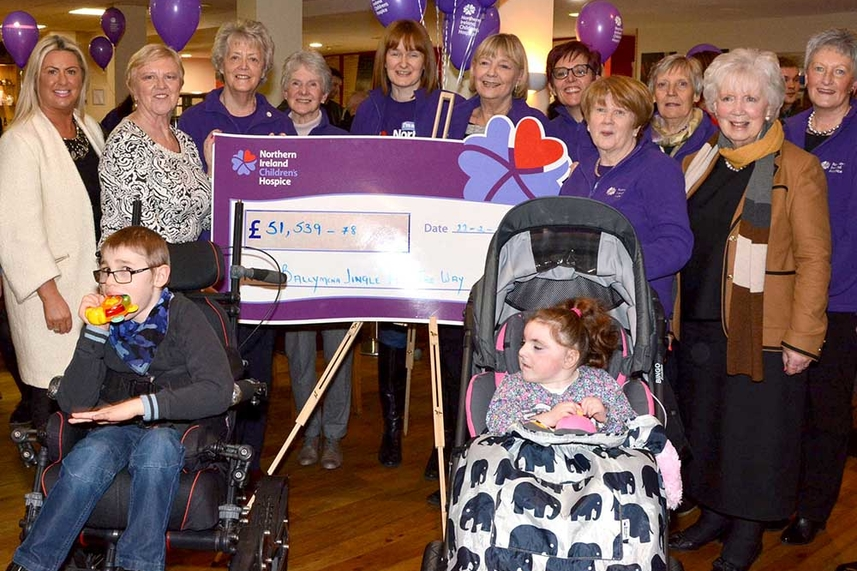 Jingle All The Way hailed after Ballymena event raises more than £50k for Children's Hospice image