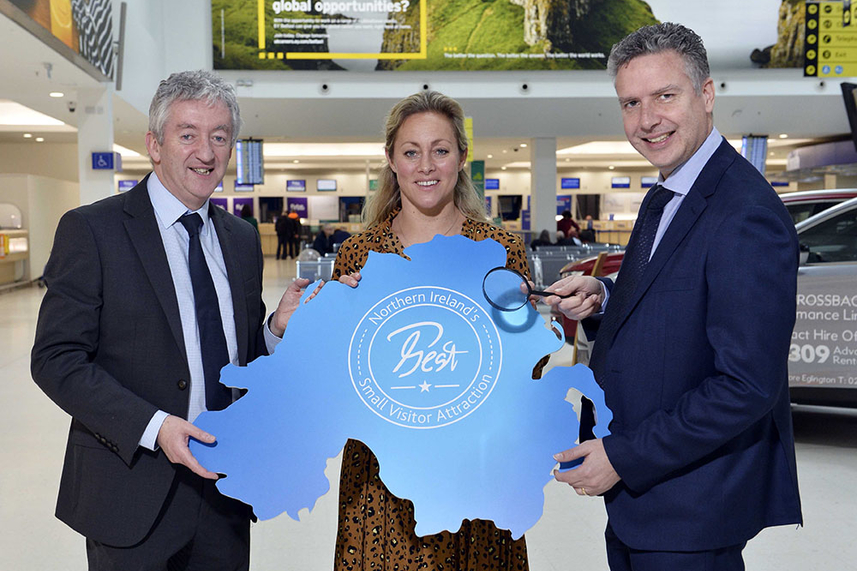 Belfast City Airport offers £30K marketing prize to NI's 'Best' Small Visitor Attraction image
