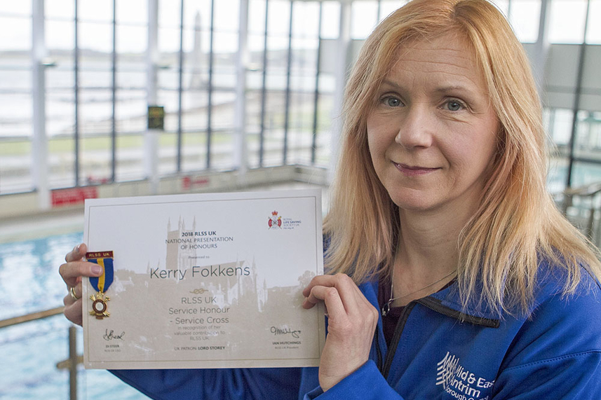 Lifesaving Kerry honoured with RLSS Service Cross image