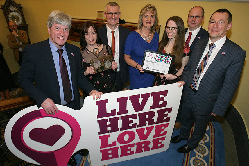 Mid and East Antrim community heroes honoured at Live Here Love Here Awards image