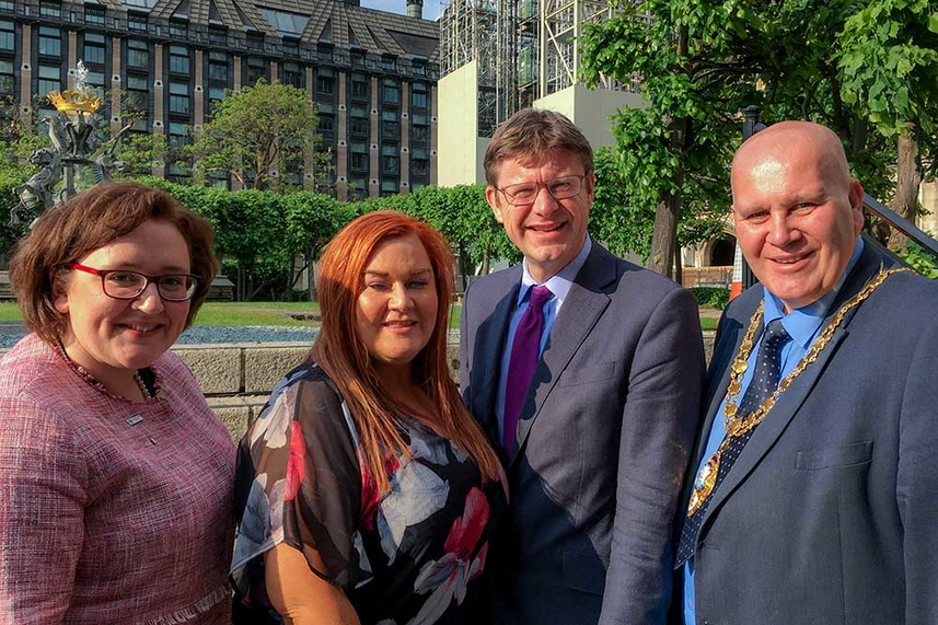 Opportunities for Mid and East Antrim top the agenda during Westminster visit image