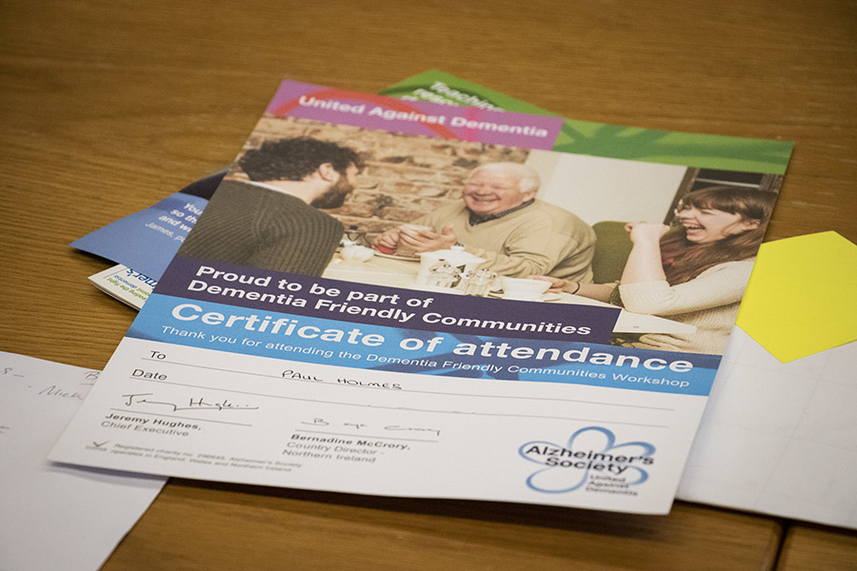 Council training all front line staff to become Dementia friendly image