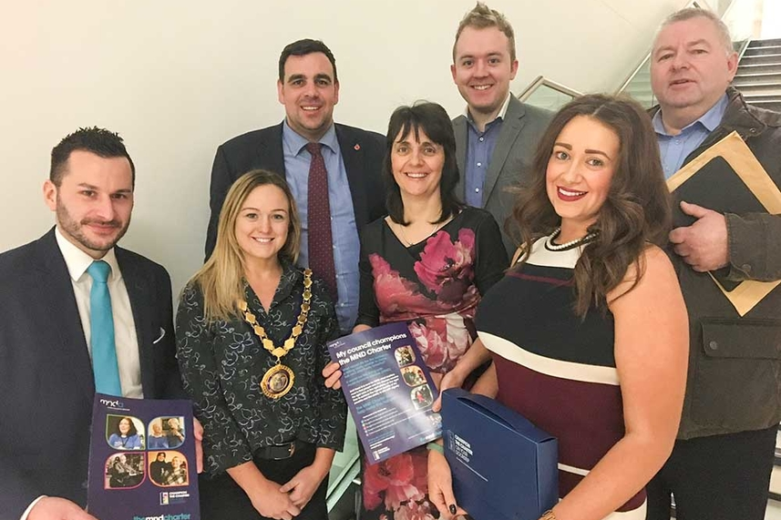 Mid and East Antrim Borough Council hears voice of people with motor neurone disease image