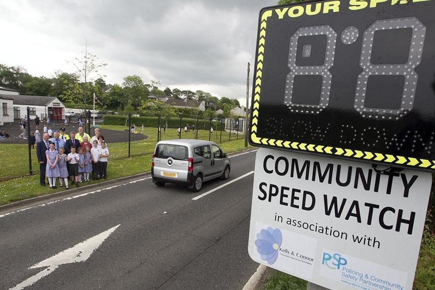 New scheme to put the brakes on speeding motorists at local Primary School image