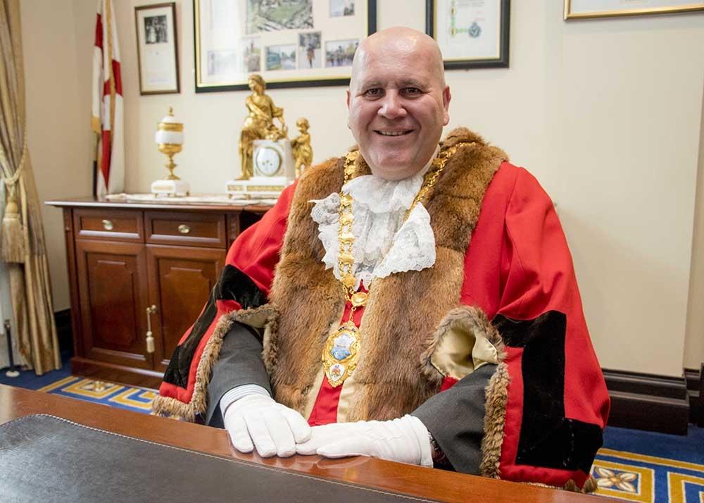 Mayor Paul Reid