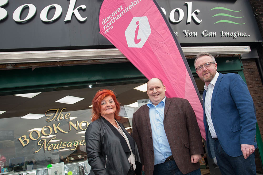 New town centre location for Larne visitor information point will boost tourism image
