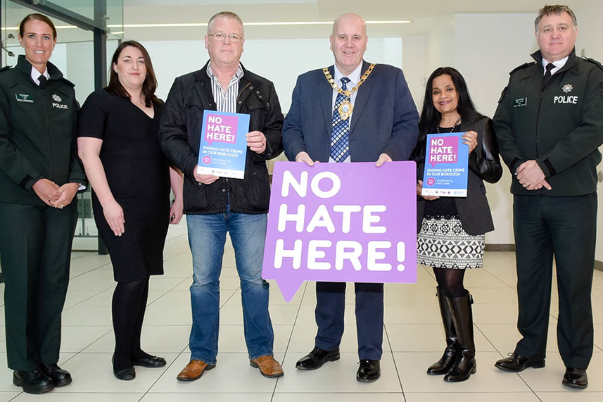 Council urges citizens to say no to hate crime image
