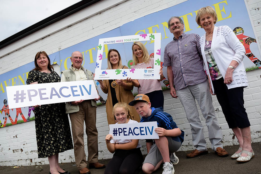 Picture perfect Ballymena in the frame as people with dementia join young people for vital project image