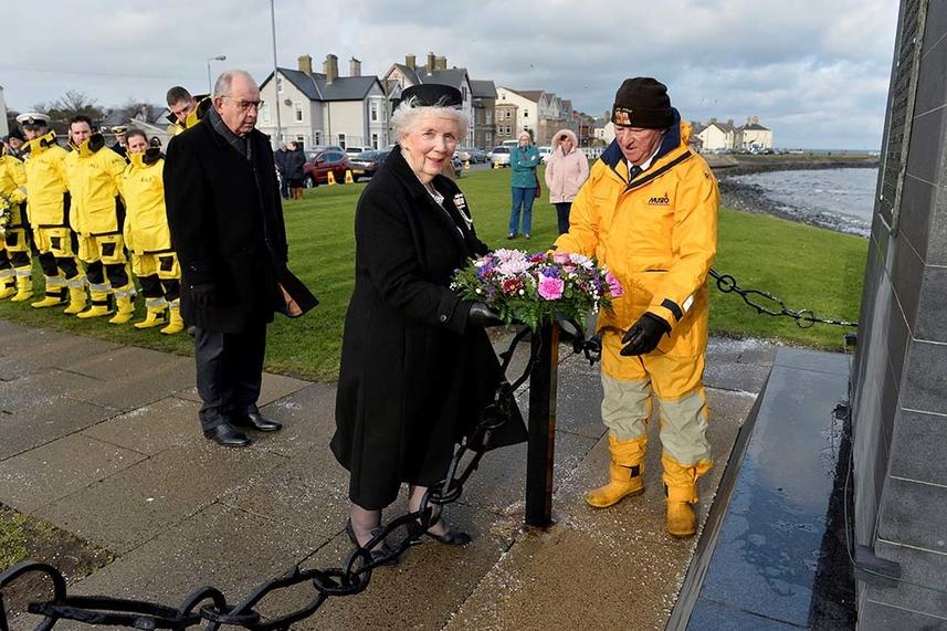 Poignant service marks 66th anniversary of MV Princess Victoria tragedy image