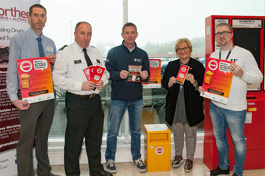 New bin 'RAPID'ly tackling drugs in Mid and East Antrim image