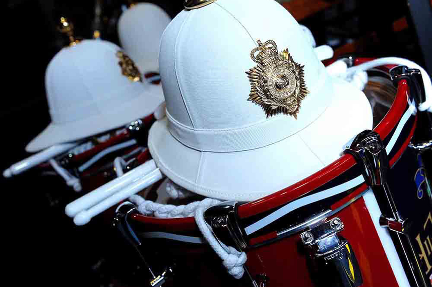 The Band of Her Majesty's Royal Marines set for spectacular Mid and East Antrim display image