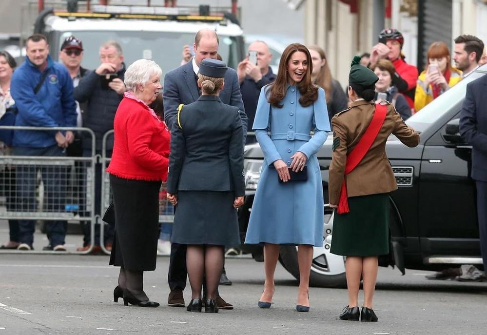Duke and Duchess of Cambridge visit Ballymena