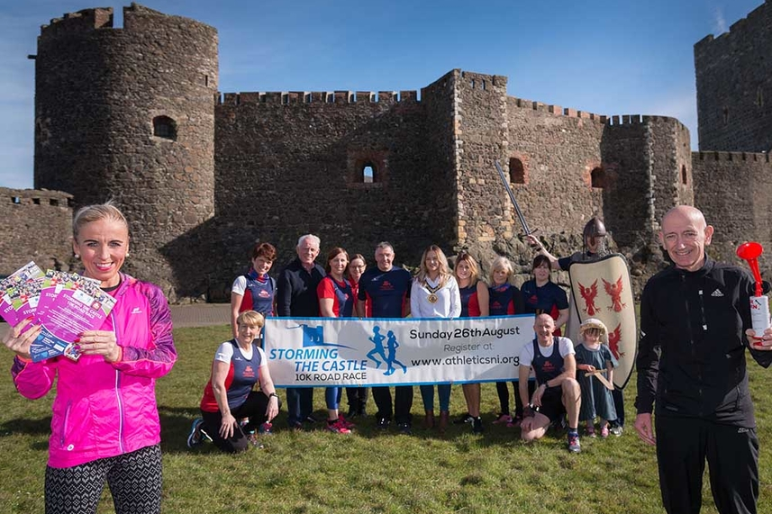 Carrickfergus gets 'ready, set, go' for 4th annual Storming the Castle race image