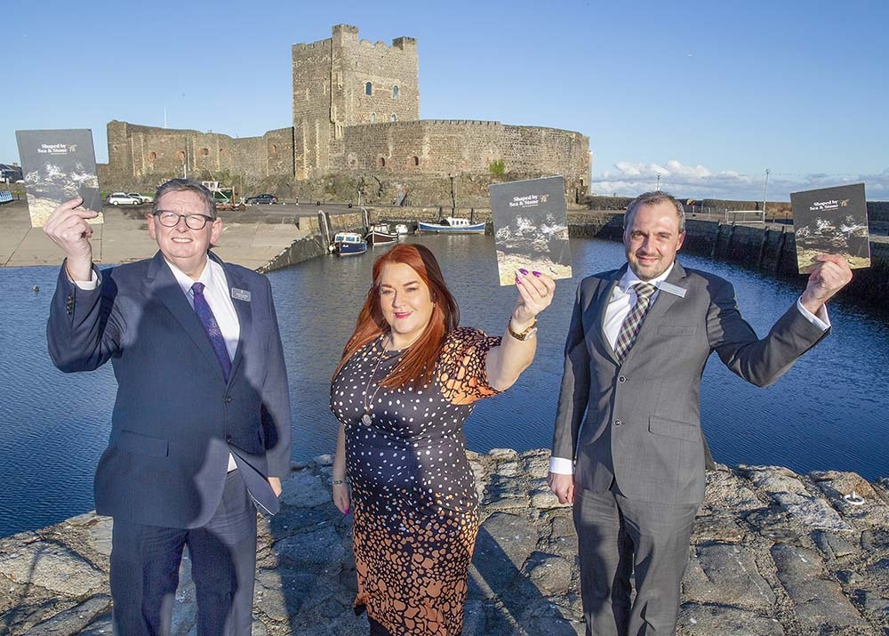 Shaped by Sea and Stone: taking Mid and East Antrim to the world