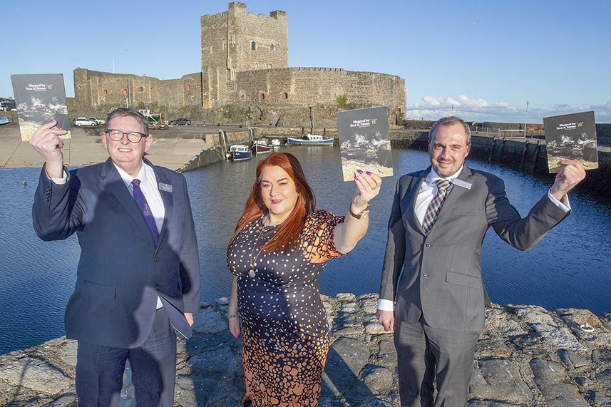 Shaped by Sea and Stone: taking Mid and East Antrim to the world image