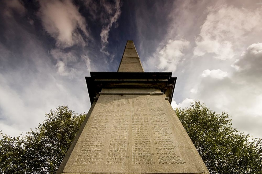 Public urged to come forward with names missing from Ballymena War Memorial image