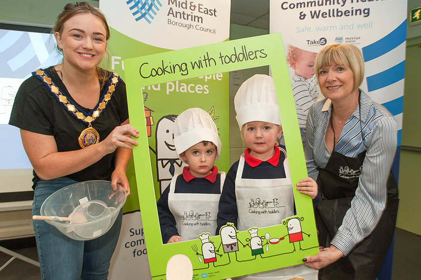 Toddlers cooking up a storm in Mid and East Antrim image