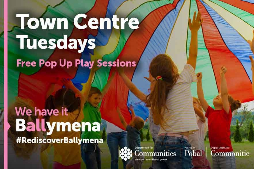 Free Pop Up Play Sessions image