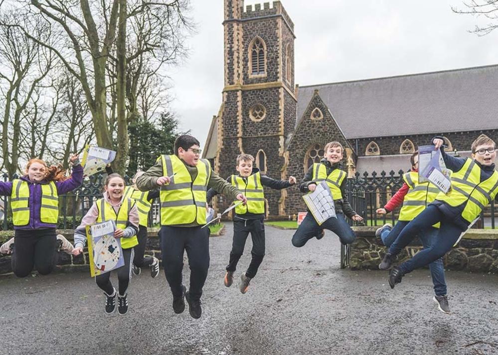 Local children are digital 'Trailblazers' thanks to WheelWorks!