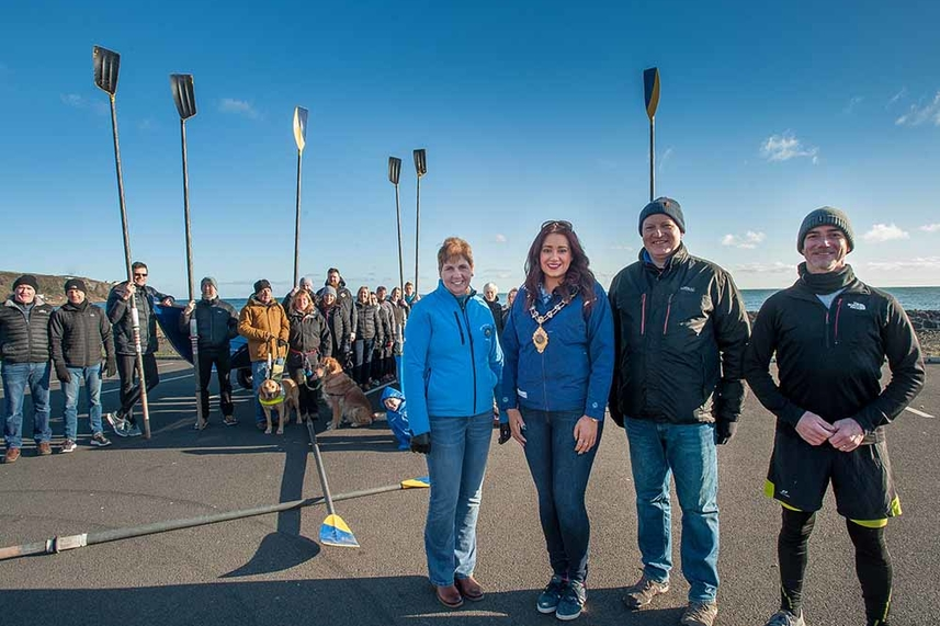 New rowing club making waves in Whitehead image