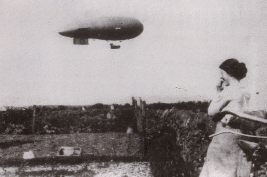 Battlebags and Blimps, airing the secrets of Whitehead's WW1 aerodrome image
