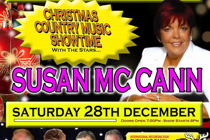 "Sean Wallace Entertainments Presents ""Christmas Country Showtime"" With the Stars! image"