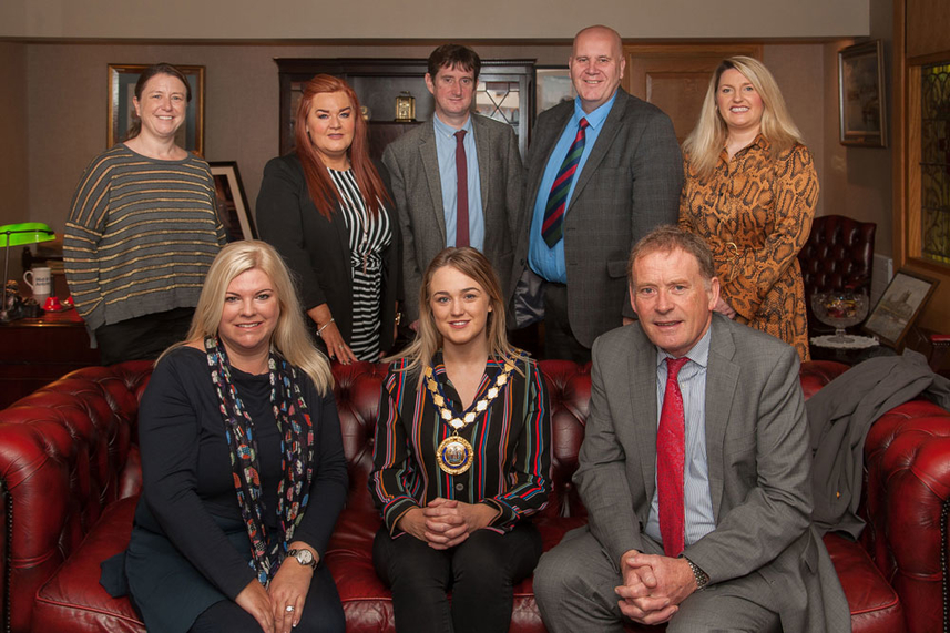 Mid and East Antrim Borough Council hosts President of the Royal Town Planning Institute image