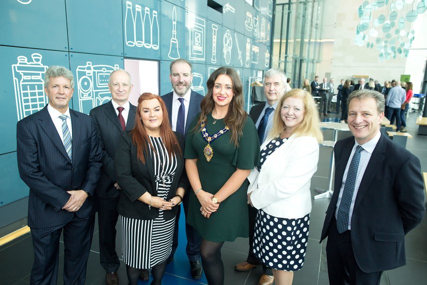 Mid and East Antrim Borough Council welcomes Invest NI board image