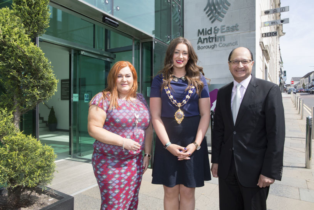 Economy a hot topic at Ministerial visit to Mid and East Antrim Borough Council
