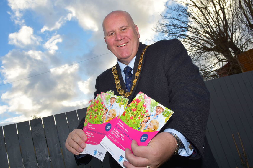 Mid and East Antrim Flower Show 'Springs' into action image