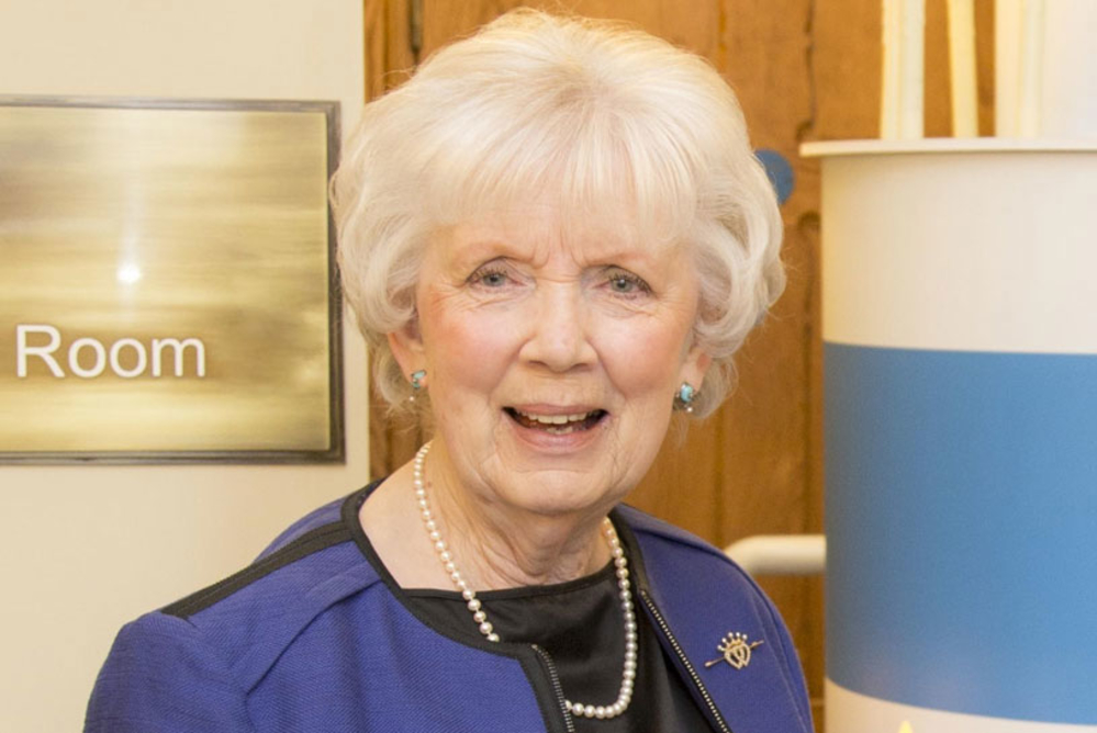 Council set to confer Honorary Freedom of Borough on Mrs Joan Christie CVO OBE, Her Majesty's Lord-Lieutenant